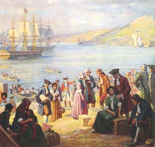 Loyalist Migrations