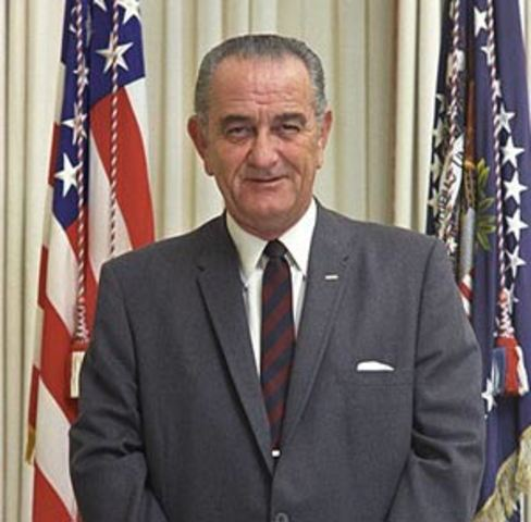 Lyndon B. Johnson is Re-Elected for President