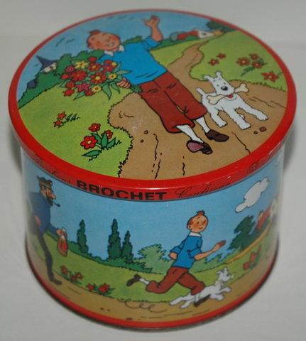 Boite à bonbons Tintin