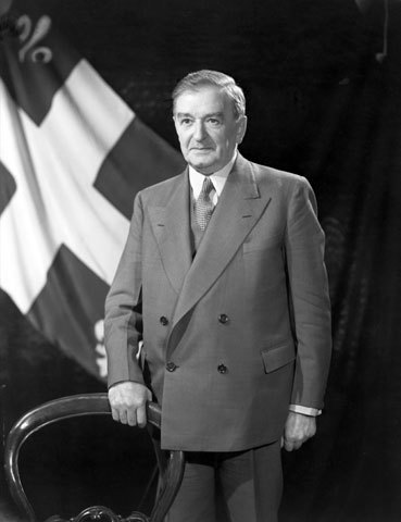 Duplessis become the premier of Quebec