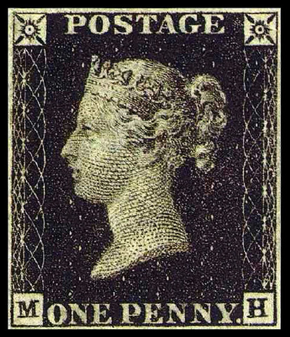 Postage Stamps Come into Use