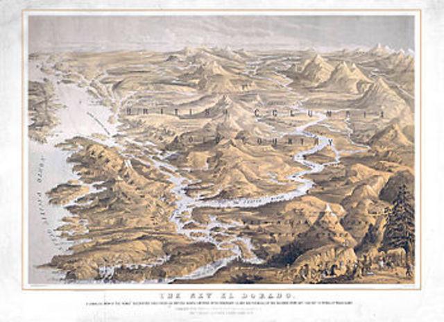 Fraser River Gold Rush Begins
