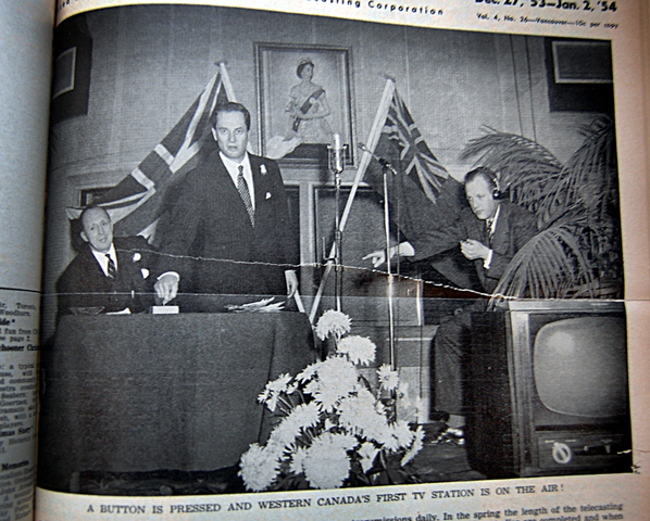 First television station