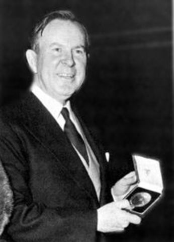Former prime minister Lester B. Pearson is elected president of the United Nations General Assembly.