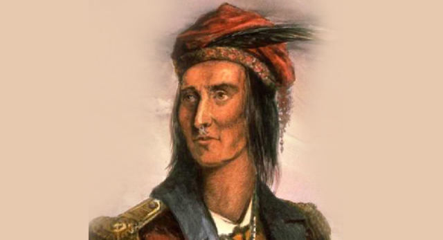 First Nations join the British in the War of 1812