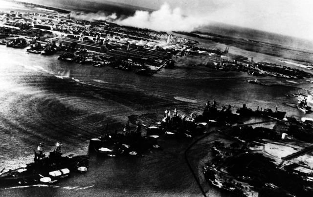 {Notable Events} -  declare war on Japan