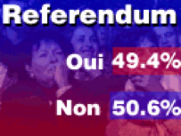 {Provincial Notes} - 1995 referendum
