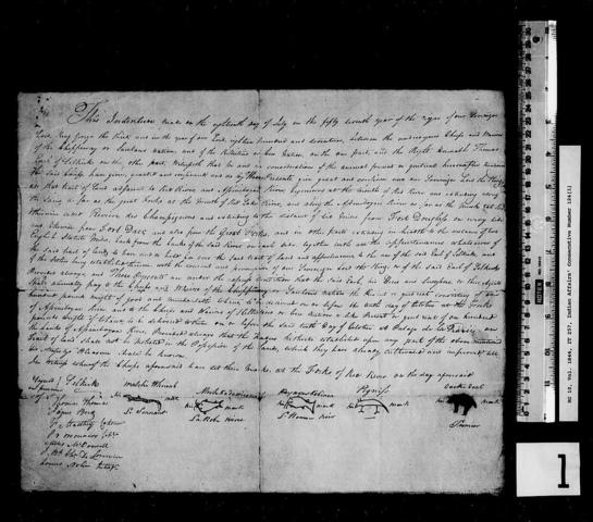 {Documents Acts & Treaties} - Treaty No.1