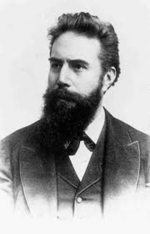 Wilhelm Konrad Röntgen (1845-1923)