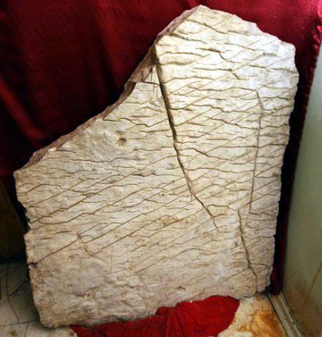 Чандарская плита. 50 млн. лет назад