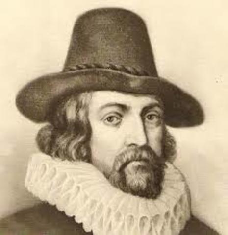 Nacimiento de Francis Bacon.