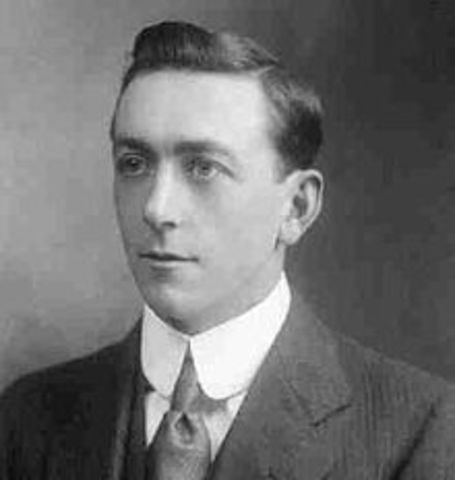 Nace Arthur Holmes.