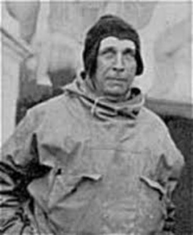 Primera expedición de Alfred Wegener.