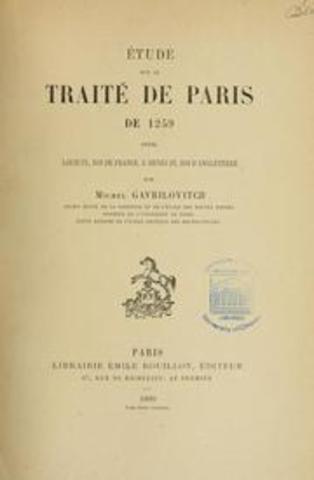 des francais signe le Traite de la navigation et du commerce