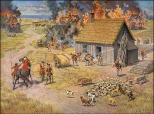 Expulsion of the Acadians - NE