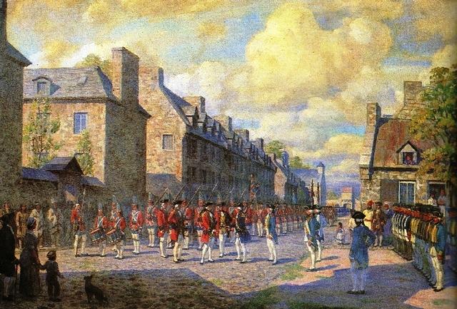 France Surrender Montreal - NE