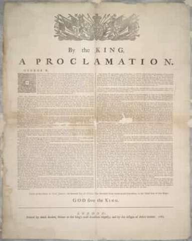 Royal Proclamation - DAT