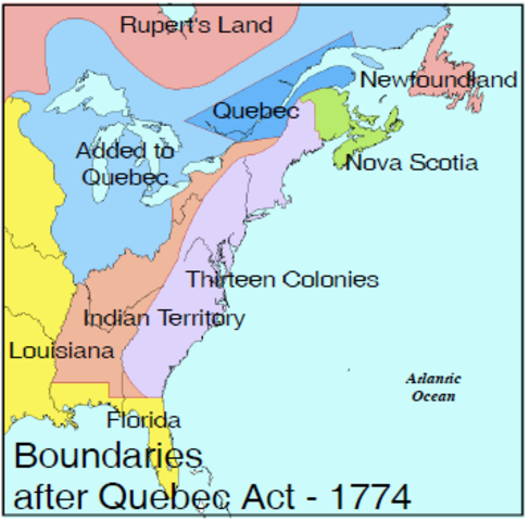 Quebec Act is Passed - DAT