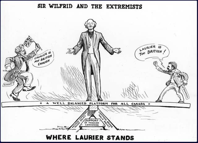 Wilfred Laurier beomes Prime Minister