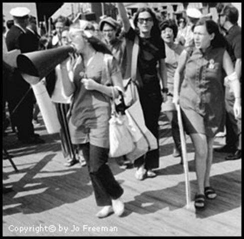 Mrs. America Atlantic City Parade Protest