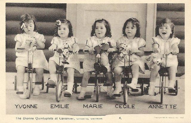 Dionne Quintuplets Were Born