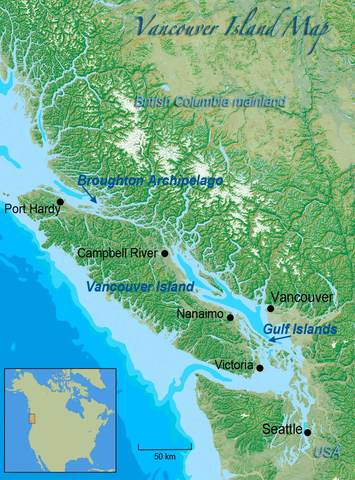 Vancouver Island Founded