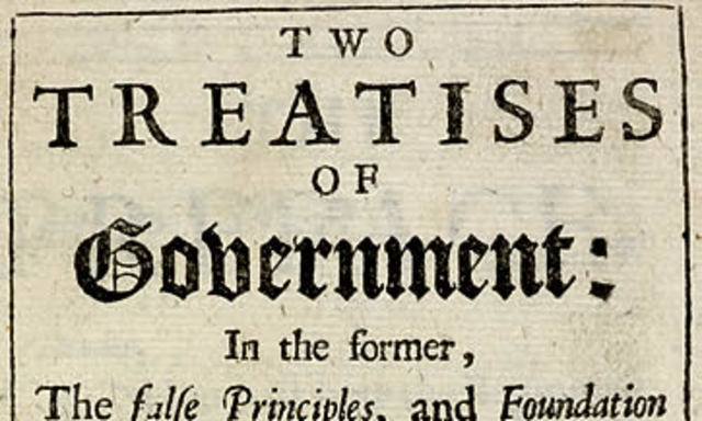 Published Two Treaties of Governmet