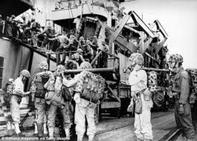 US joins Korean War