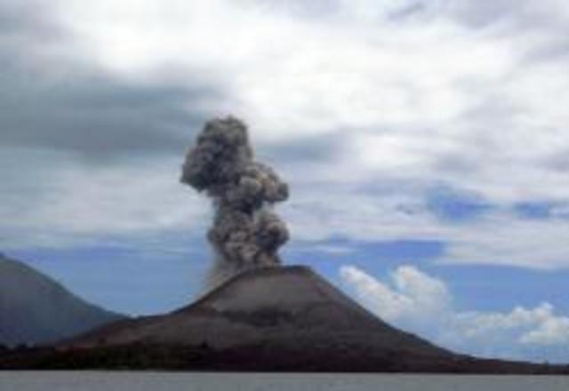 Erupció del volcà Krakatoa de 1883