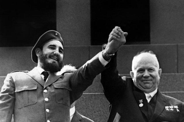 Castro avec 'URSS