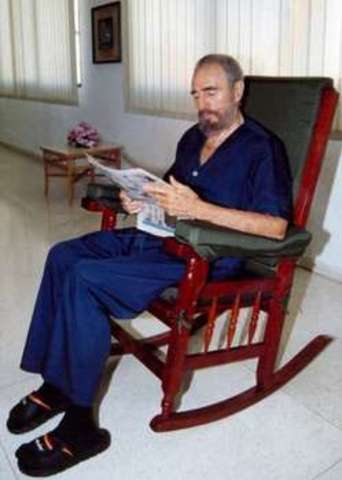 Réappartition de Castro depuis sa maladie
