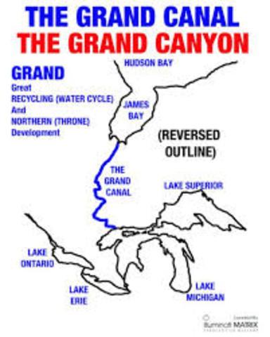 Grand Canal Built