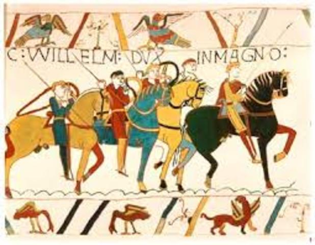 William the conquer takes england