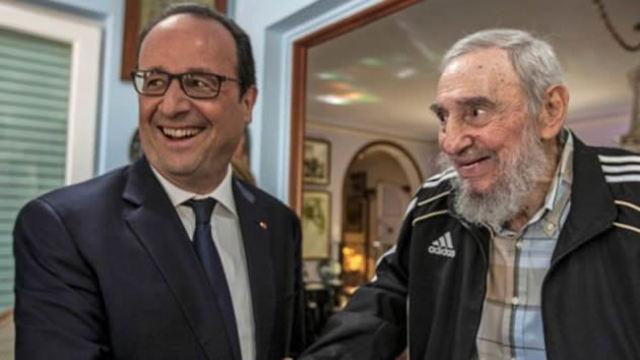 Dernière sortie avec la visite de François Hollande