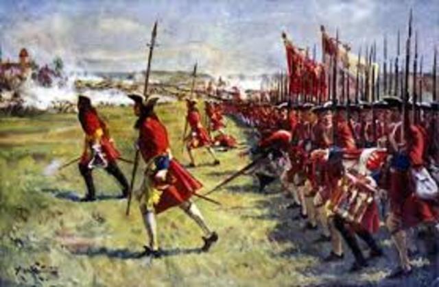 L'Autriche et l'Angleterre ont commencé une guerre en 1701 en France.