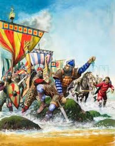 William the Conqueror takes England