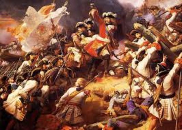 En 1712, la France perd parce que il a plus faible que l'Autriche et  de l'Angleterre l'ensemble.