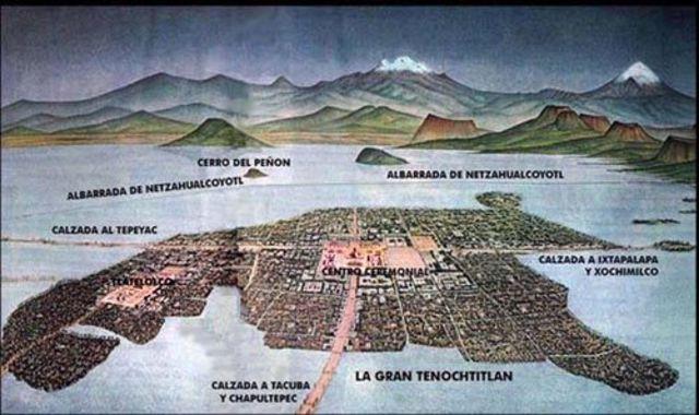 Tenochitlan built