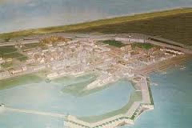 En 1719, france a créé une énorme militaire appelé, la forteresse de Louisbourg.