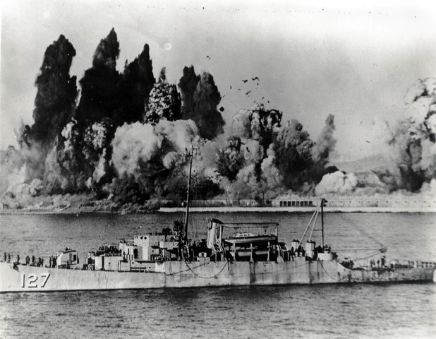 The U.S. takes hold of Inchon