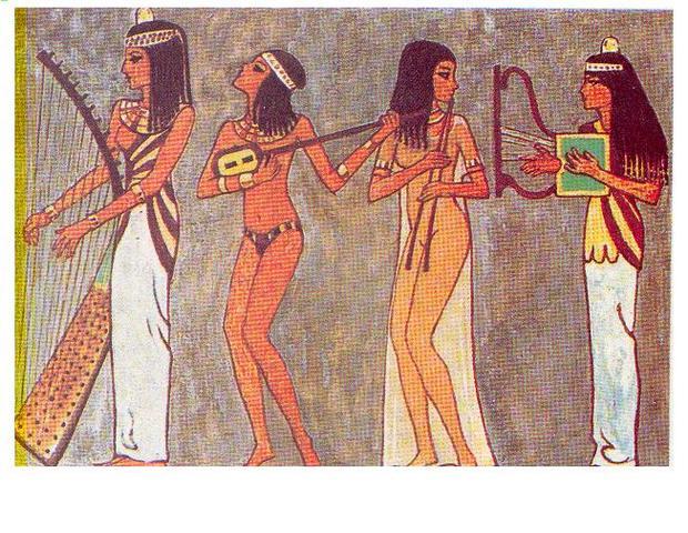 1550 ac Musica en egipto