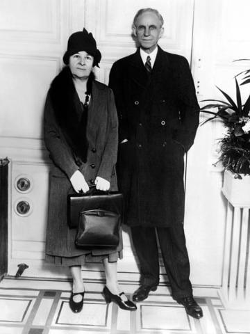 Henry Ford and Clara Bryant