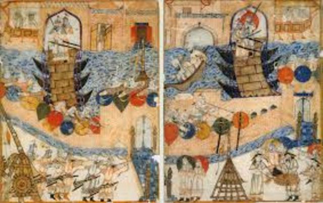 Abbasid's take Baghdad