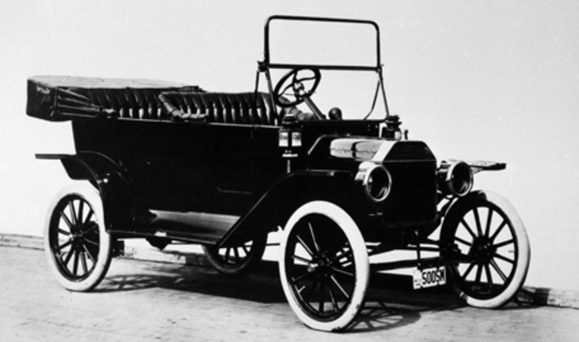 The first Model T was created