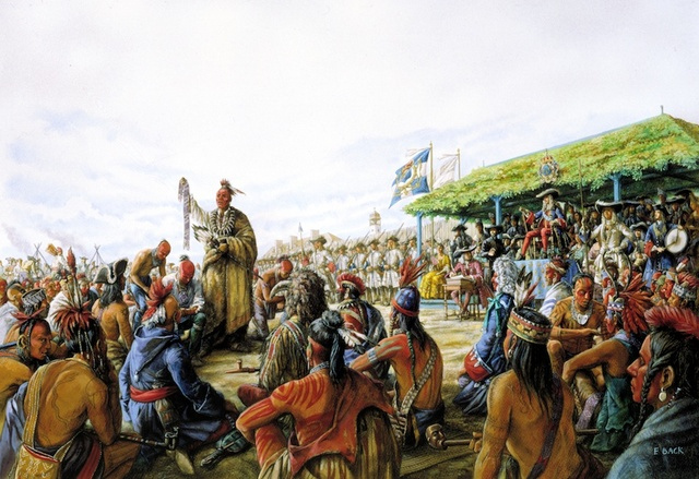 La grande paix de Montréal de 1701