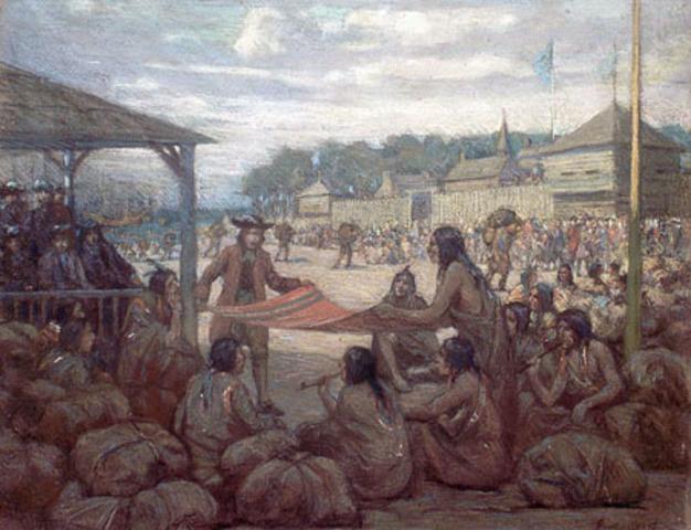Les Francais et les peuple Autochtones