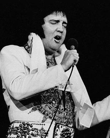 Elvis Presley 's Last Concert Appearence