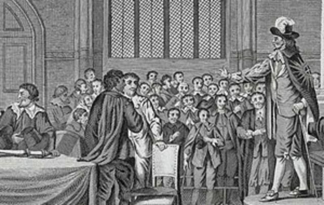 Parliament passes laws to limit royal power