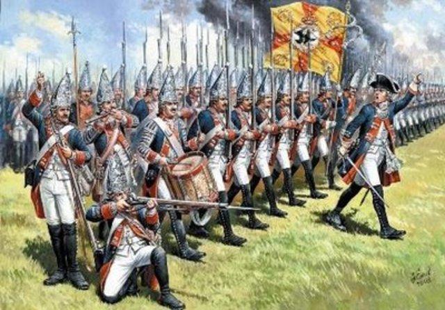 Les Francais forment une armée à la forteresse de Louisbourg pour environ 40 ans. Pendant les 40 ans le population à Louisbourg double à 4 mille.