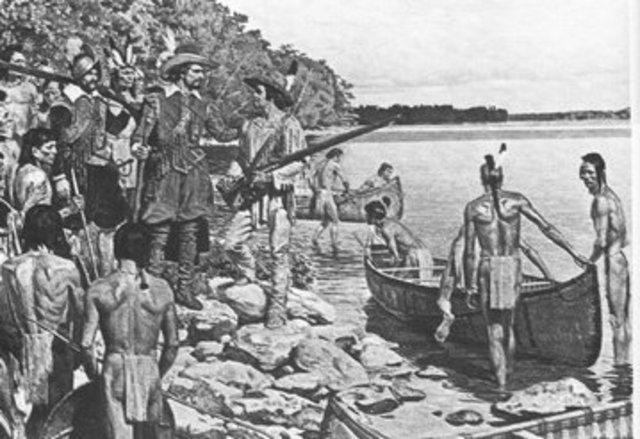 Les francais avaient construit des forts dans les Pays-d'en-Haut pour renforcer le commerce des fourrures.